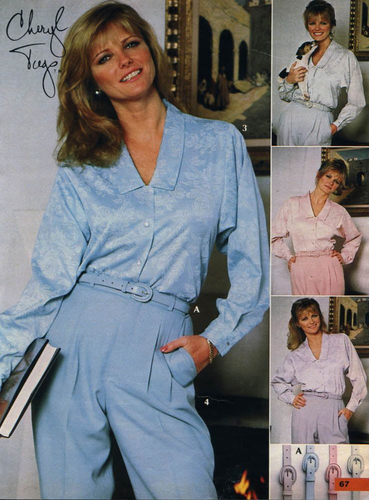 1980 S Fashion 1980s Clothing From Catalogs Men Amp Women