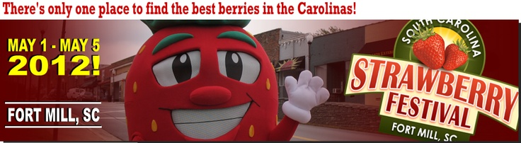 South Carolina Strawberry Festival in Fort Mill in May