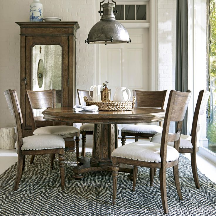 Amazing Bordeaux 7 Piece Dining Set By Morris Home Furnishings