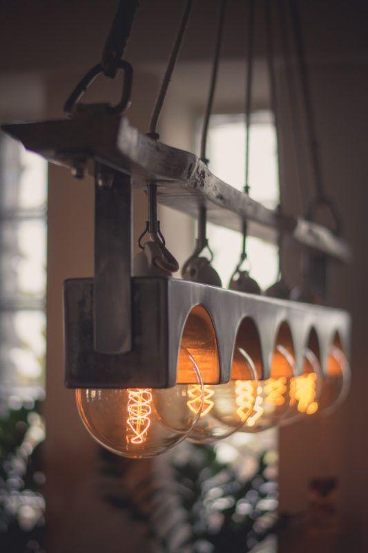In the workshopIn the workshop, chandelier, rustic, interior, design, edison bulb, lamp