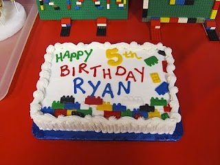 Lego Birthday Cake that I might be able to make