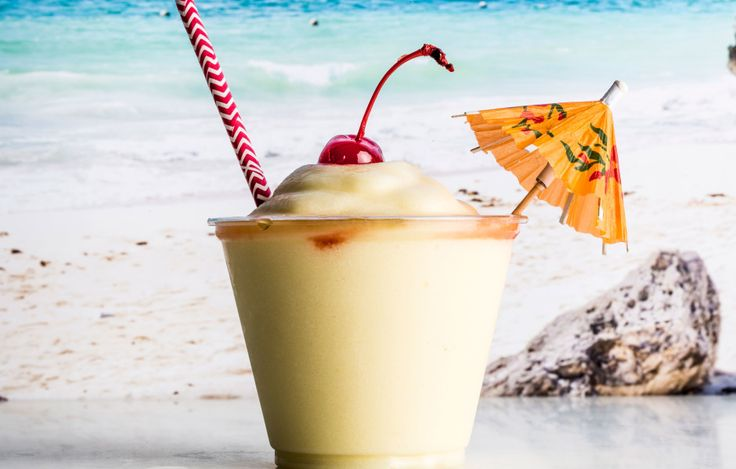 Freezing fresh pineapple definitely makes the best impact flavor-wise in this piña colada recipe, but you can use 8 oz. frozen pineapple if you wish. This is part of BA's Best, a collection of our essential recipes.