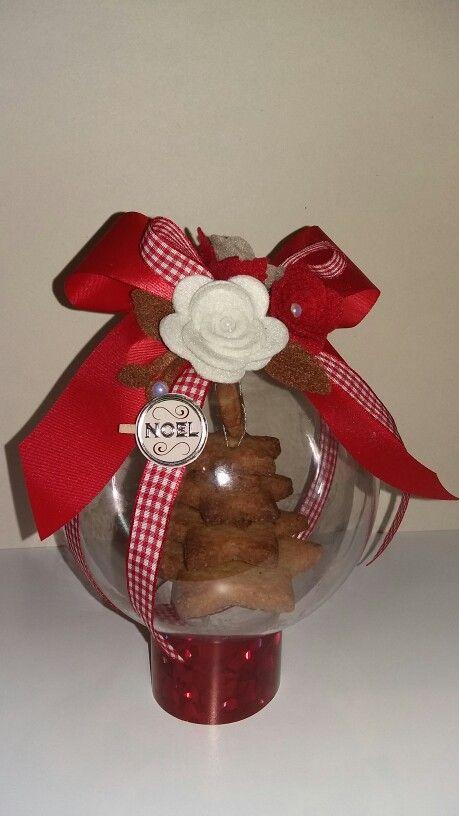 Biscotti in palla di plexiglass