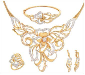 Jewellery designs, Gold jewellery and Wedding jewellery ...
