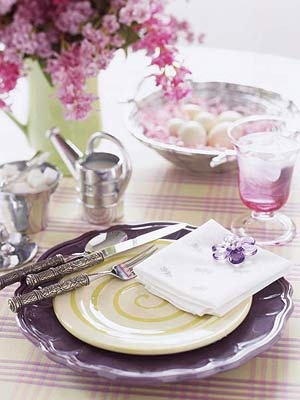 Lovely lilac - so pretty for a spring or summer casual wedding