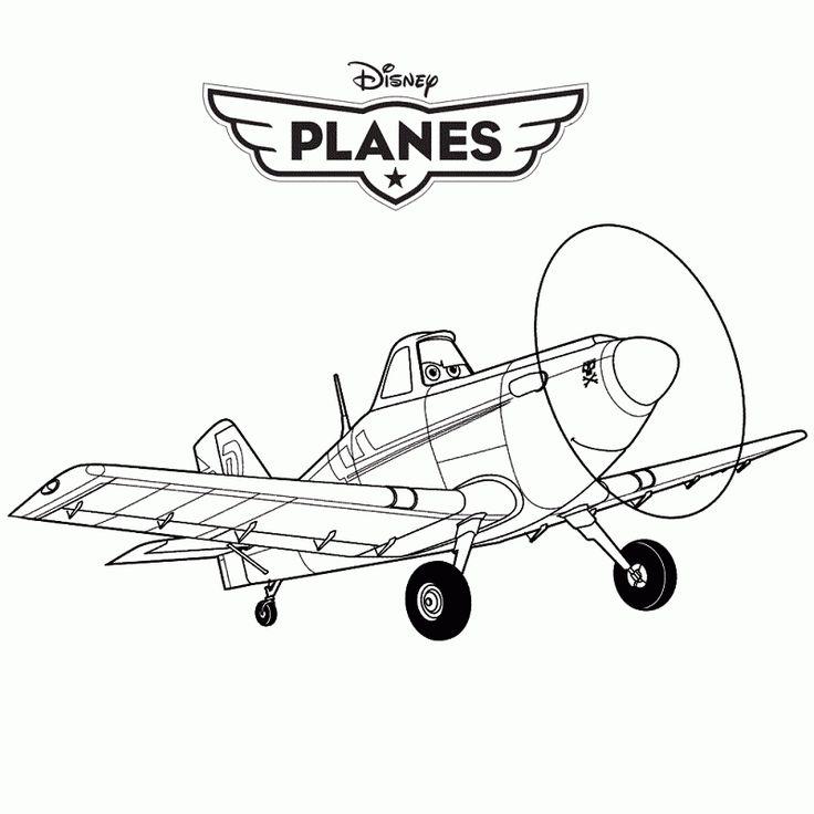 Imágenes de Avión la película para pintar | Fotos o Imágenes | Portadas para Facebook