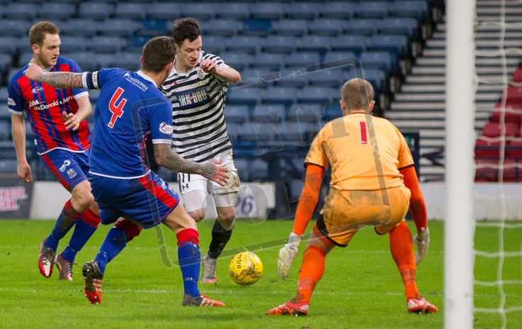 Queen's Park's David Galt on the ball during the SPFL League Two game between Queen's Park and Elgin City.