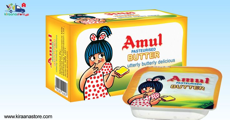 #Amul #Pasteurised #Butter 100GM @ Rs. 38/- Online at Best Price on Kiraanastore.com. Get Quick & Fast Home Delivery!!