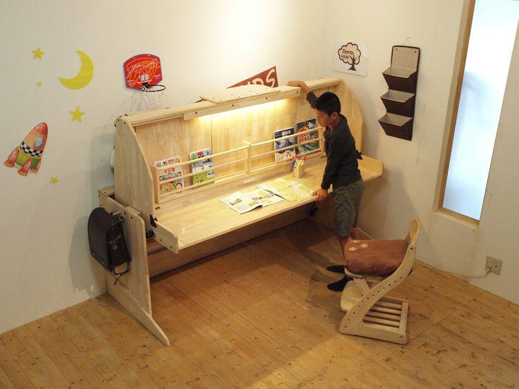 リノキッズ木製ロータイプロフトベッド