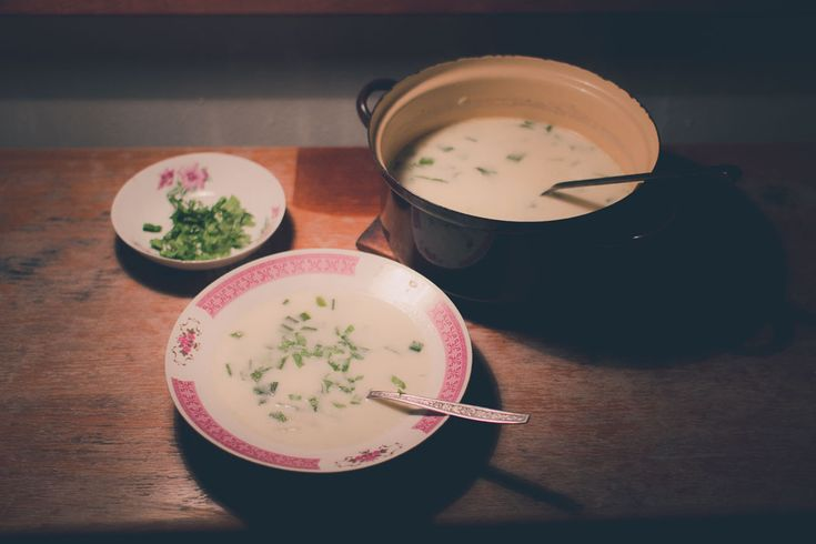 Wild garlic soup is a pleasant addition to your spring diet. #ramsons #soup #recipes #homemade #home #cooking #kitchen
