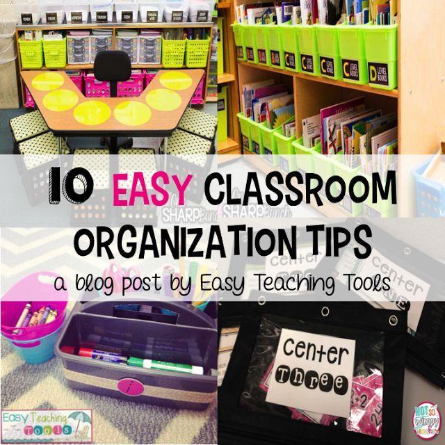 Classroom Organizing Ideas: 200 Best Classroom Organization/Storage Images On