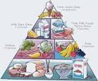 La pirámide alimenticía