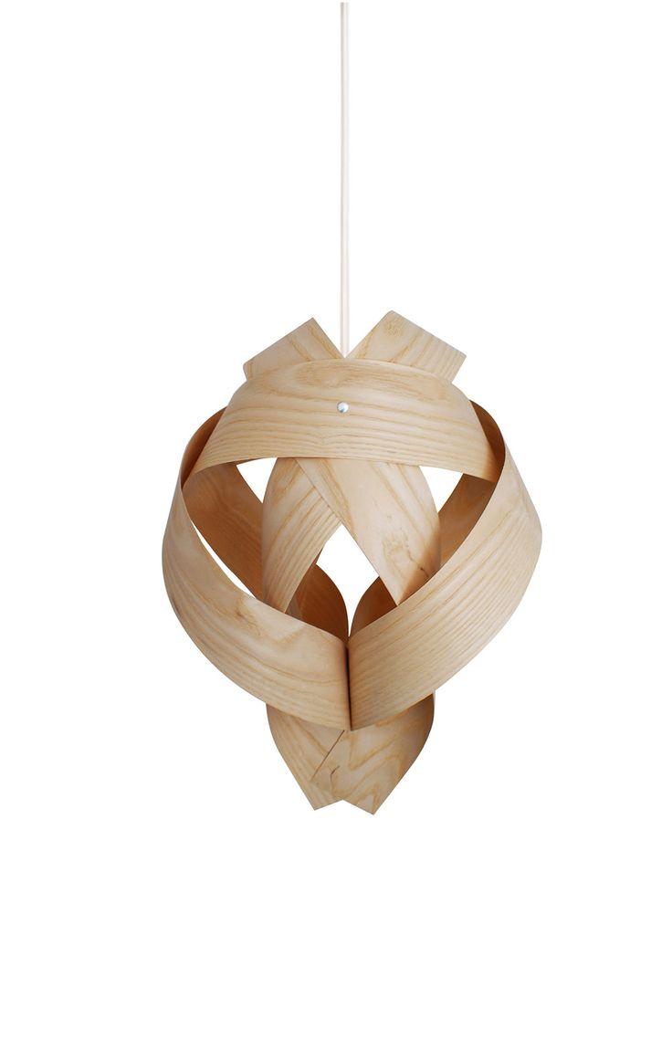 Lámpara de techo 06 en chapa de fresno