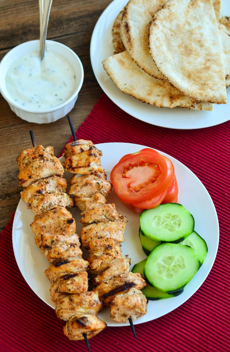 Lebanese Chicken Skewers (Shish Taouk) - The Spice Kit Recipes (thespicekitrecipes.com)