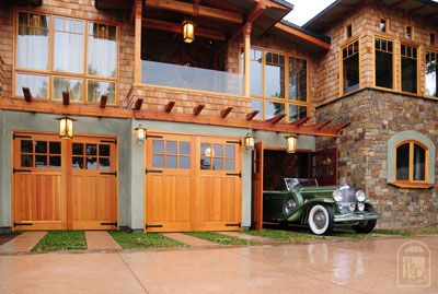 barn style house plans doors swing carriage house