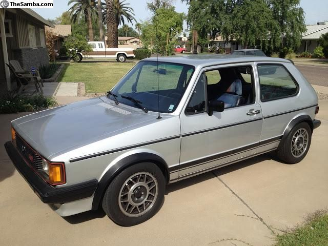 1983 VW Rabbit GTI Volkswagens Pinterest Need to