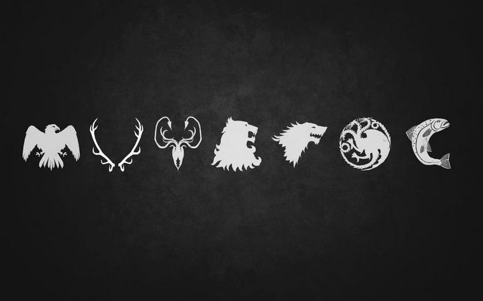 Minimalism Game Of Thrones Sigils Wallpaper Game Of Thrones Tattoo Got Game Of Thrones Game Of Thrones Houses