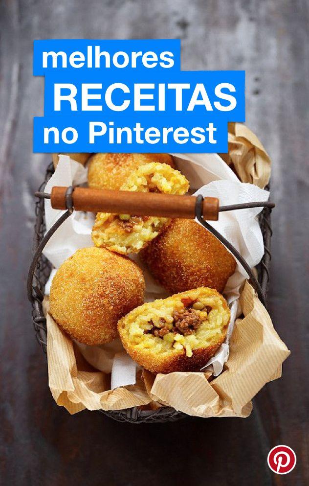 Veja o perfil do Pinterest Brasil com receitas deliciosas para testar