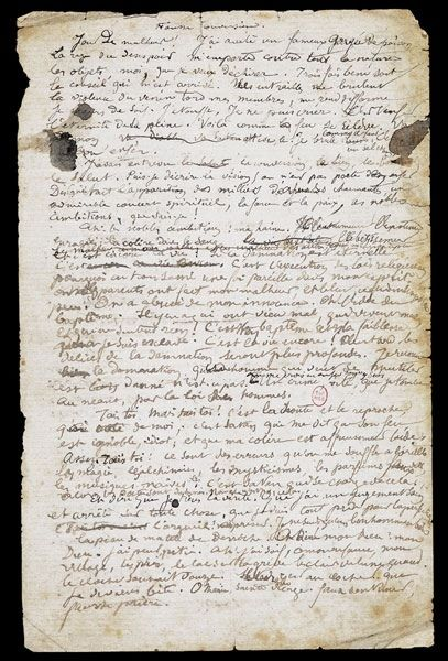 Manuscrit Arthur Rimbaud
