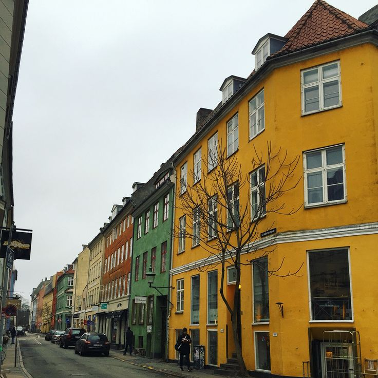 Colourful streets of Copenhagen