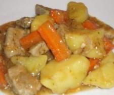 Recette Sautés de porc, pomme de terre et carotte vapeur...très simplement! par CasaHax