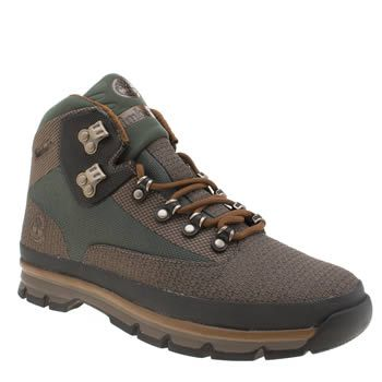 Timberland Green Euro Hiker Mid Jacquard Mens The Timberland Euro Hiker Mid Jacquard arrives to keep up with your adventurous lifestyle. The lightweight fabric boot features earthy tones of green and brown for a more outdoorsy aesthetic. SensorFl http://www.MightGet.com/january-2017-13/timberland-green-euro-hiker-mid-jacquard-mens.asp