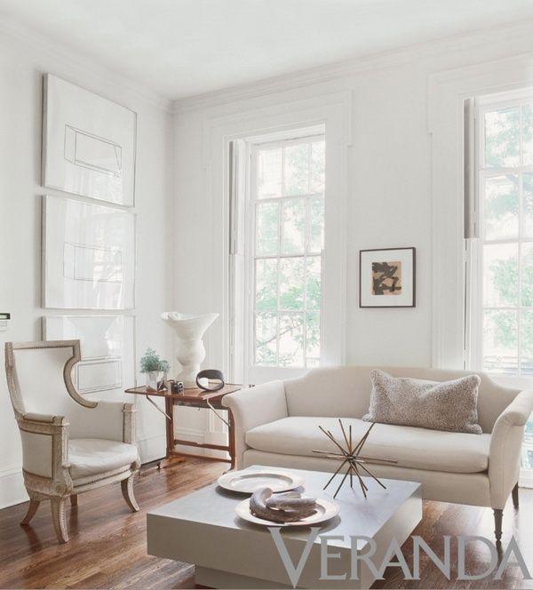 Simply White Living Room Ideas: Veranda White Living Room