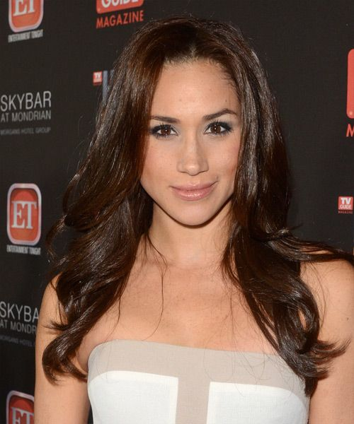 meghan Markle | Meghan Markle Hairstyle - Formal Long Straight - 15161 | TheHairStyler ...