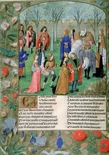 The wedding of Cesare Borgia and Charlotte of Albret (Part 2)