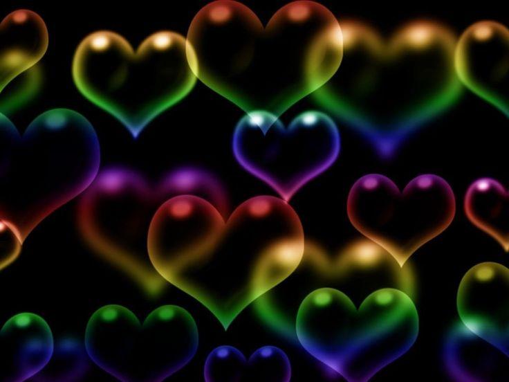 Descargar fondos de pantalla 3d fondo de corazones con for Imagenes fondo 3d