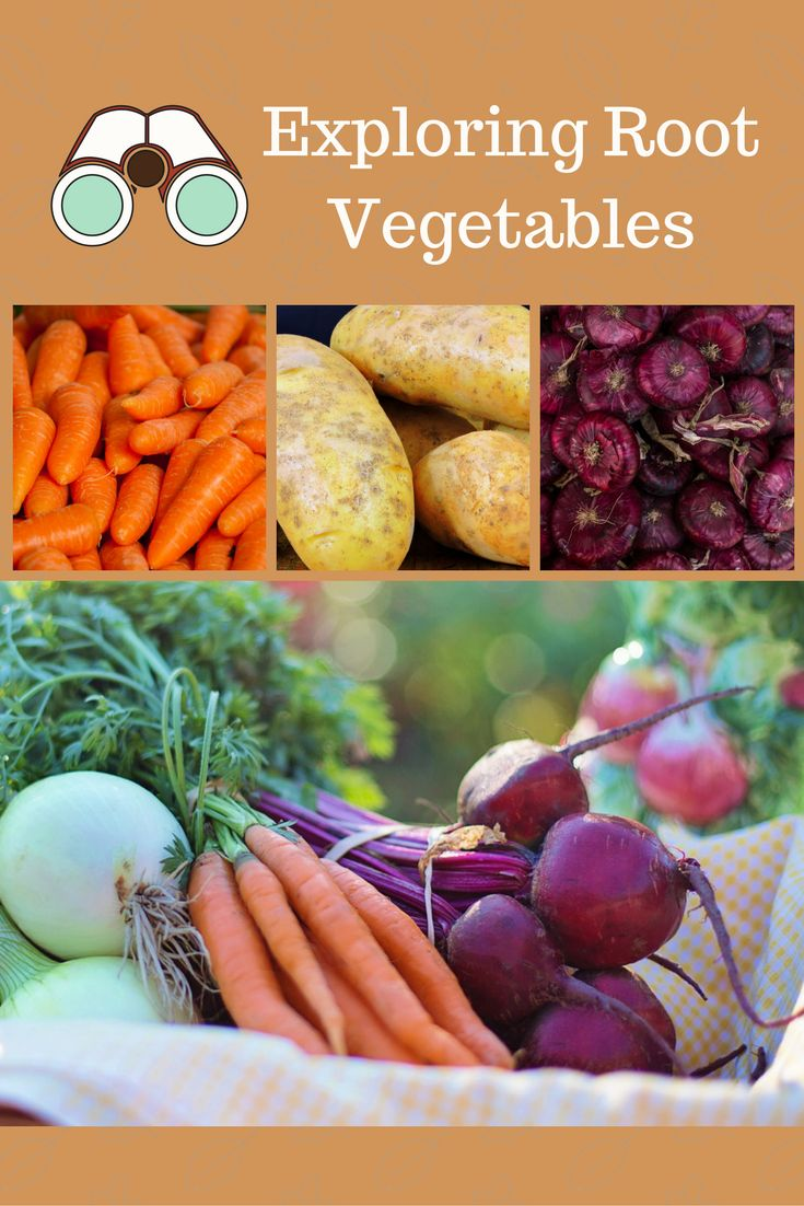Need ideas for veggies at mealtime? Try a root tasting party and a recipe for yummy roasted vegetables!