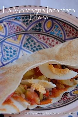La Montagna Incantata: Ricette arabe: kasse-crout con mesciuia