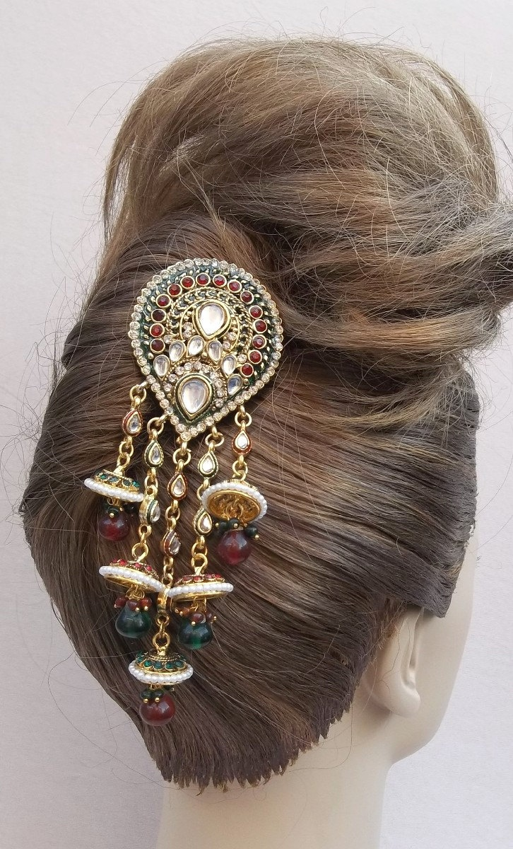 Vintage hair comb Indian Bollywood hair by ElrondsEmporium on Etsy