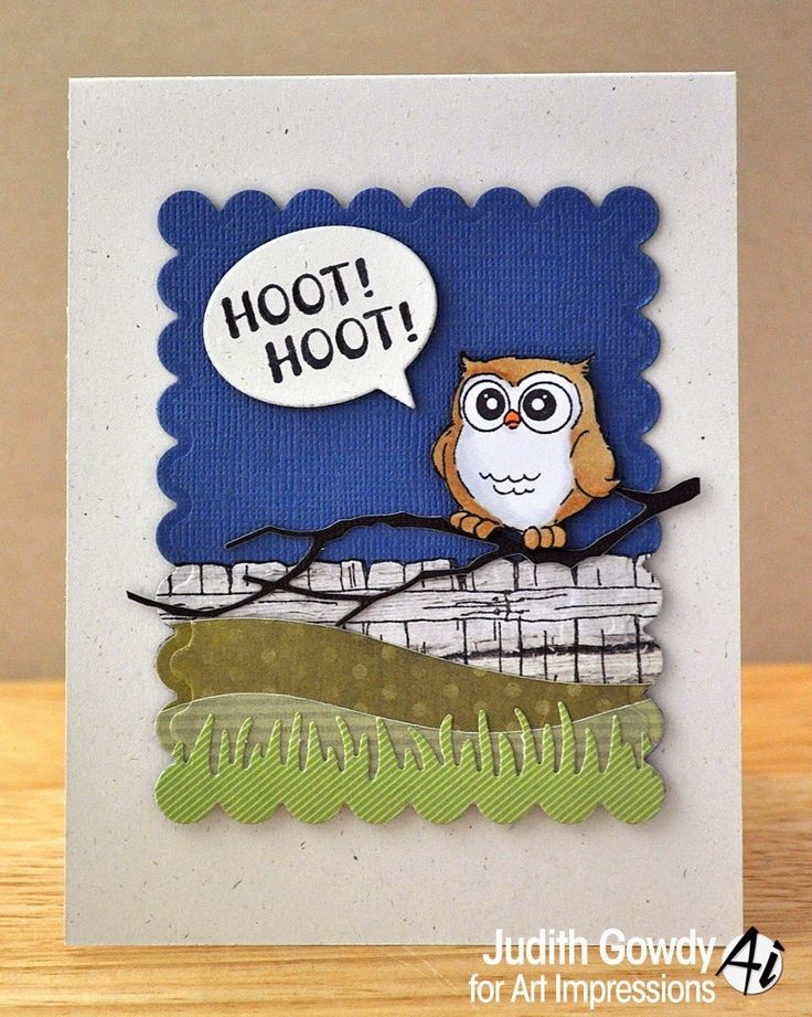 Rubber Stamp Art Projects 151 best Whoots! image...
