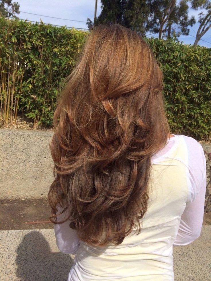 cool Стрижка каскад (50 фото) – как правильно уложить волосы Читай больше http://avrorra.com/strijka-kaskad-foto/