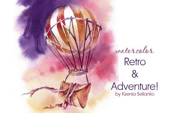 Posted by @newkoko2020 Retro&Adventure  by Ksenia Selianko on @creativemarket