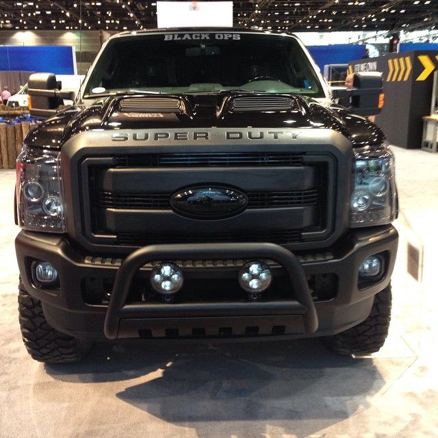 What a beast! I love it. #blackops truck #CAS2015