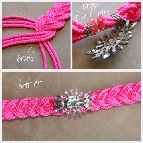 DIY bracelet or belt
