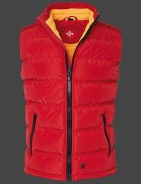 Wellensteyn Snowdome Vest Men, PrincessAirTec, Rot