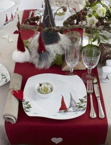 Åsas jul Middagstallerken