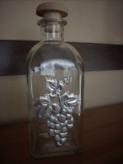 70 best images about botellas decoradas on pinterest for Manualidades con estano