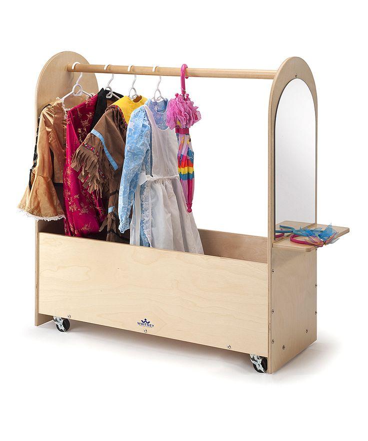portable dress up rack chitlins pinterest. Black Bedroom Furniture Sets. Home Design Ideas