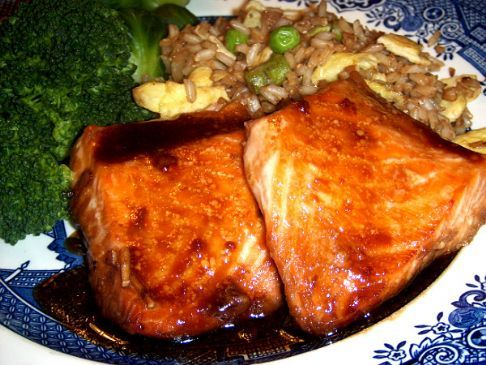 Maple Syrup Soy Salmon Recipe