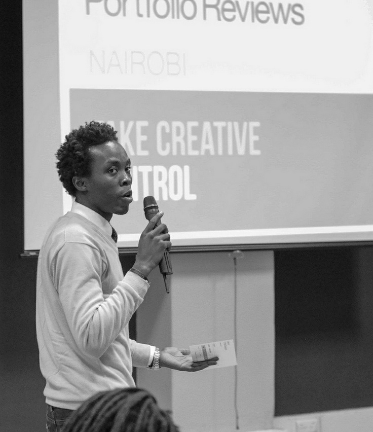 The host of Nairobi's #BehanceReview event takes the stageBehancereview Events, Nairobi Behancereview, Reviews Weeks, November 3 10, Inspiration Photos, 3 10 2014, Behance Portfolio, Portfolio Reviews, Weeks November