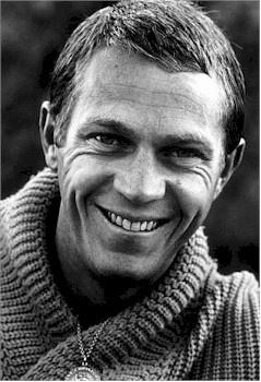 "Steve McQueen  ""The Blob"" (1958), ""The Magnificent Seven"" (1960), ""The Great Escape"" (1963),  ""Bullitt"" (1968), ""The Thomas Crown Affair"" (1968)"