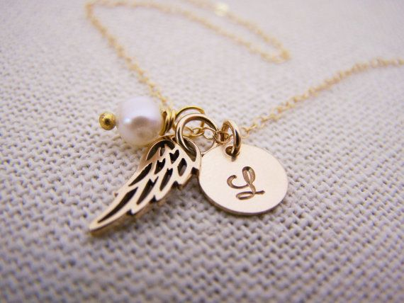 ✦ Mobile Shoppers < swipe > to see all photos ✦ ❀ Gift packaging included with every order! ❀  Angel wing necklaces are a subtle and sophisticated