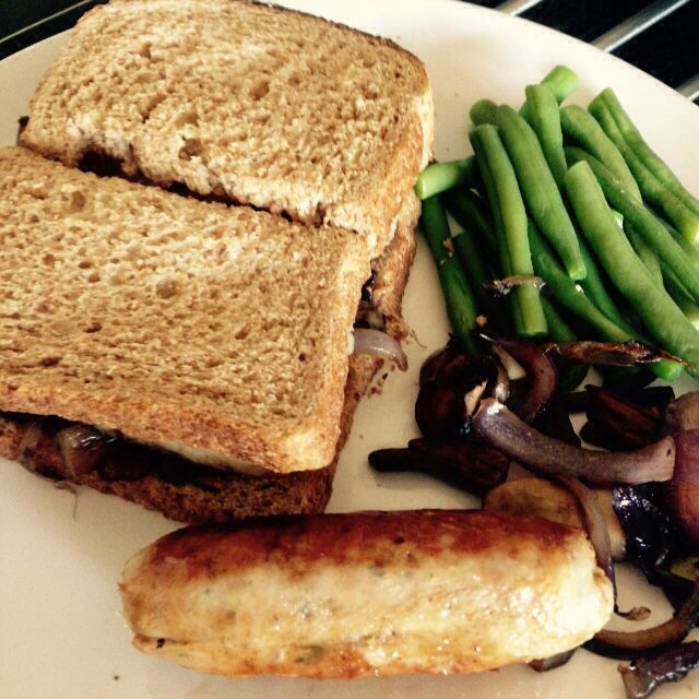 Sausage sarnie - 90 daysss plan - The Body Coach - Cycle 2