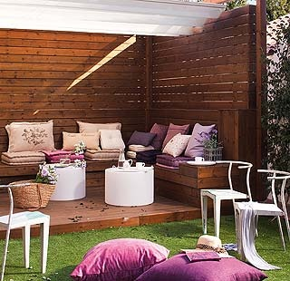 20 best images about decoracion de casas on pinterest for Decoracion de jardines interiores