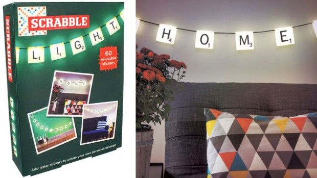 Hanging Scrabble Lights Let You Spell Out Any Glowing Message   Gizmodo UK