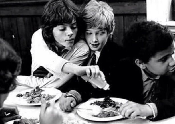 Jack Wild and Mark Lester